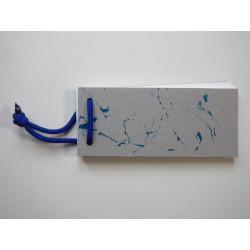 Notizblock Grau-Blau 2