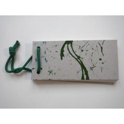 Notizblock Grau-Olive