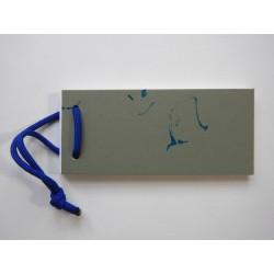Notizblock Gruen-Blau