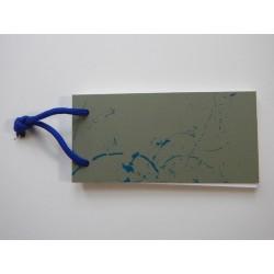 Notizblock Gruen-Blau 2