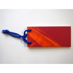 Notizblock Rot-Blau