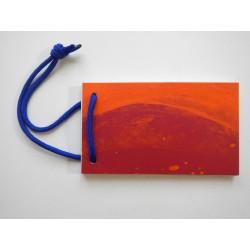 Notizblock Rot-Blau 2