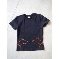 DOGS Schwarz-Orange